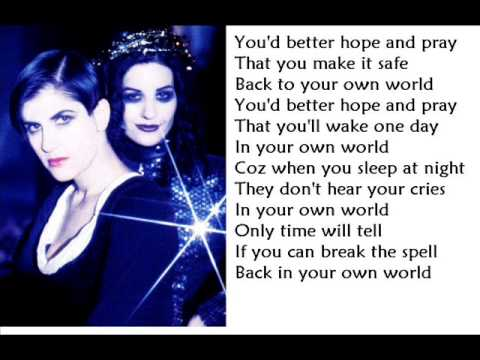 Shakespears sister  Stay LYRICS and PICTURES