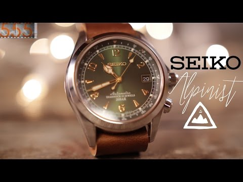 Seiko Alpinist SARB017 - Japan's Original Explorer - Wristwatch Review