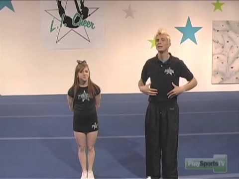 Pike And Toe Touch Cheerleading Exercises