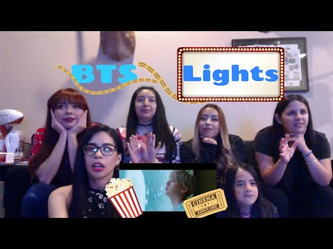 BTS 'Lights' Official MV Reaction [ At The Movies With BTS! ]
