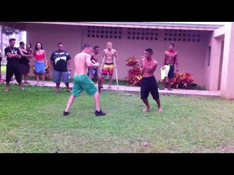 Keoni vs Whitmo (Part 1) [Haleiwa Fight]