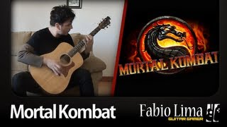 Baixar Mortal Kombat Theme on Fingerstyle by Fabio Lima (GuitarGamer)