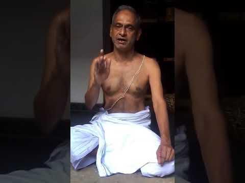 Bhagya Suktam, Rigveda, Kerala Style, with hasta mudra