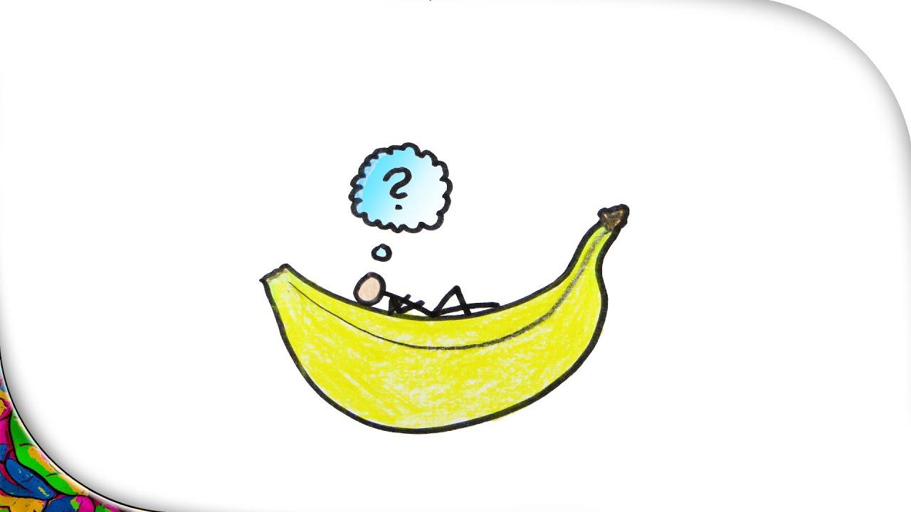 Warum ist die banane krumm witz