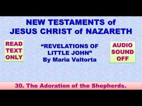 NEW TESTAMENTS of JESUS CHRIST of NAZARETH 30