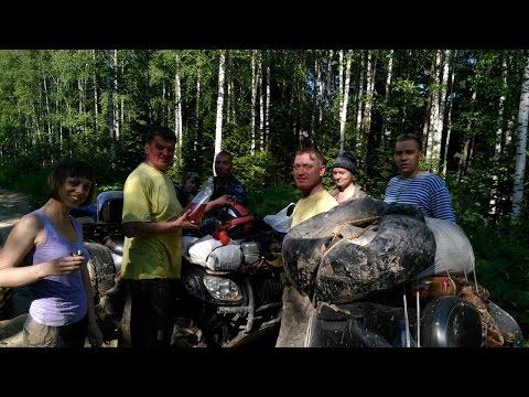 Киселевск - Прокопьевск - Село Томское - река Уксунай - река Зауда - Киселевск на квадроциклах 2016