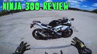 1 year, 10,000 mile review - Kawsaki Ninja 300