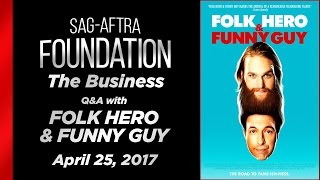 The Business: Independent Film Screening Series: FOLK HERO & FUNNY GUY