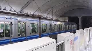 横浜市営地下鉄3000R形3491F 普通 あざみ野ゆき @三ッ沢上町 ('21/4)