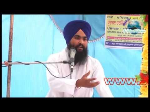 Bhai Harjit Singh Dhapali Punjab De Halatan Bare