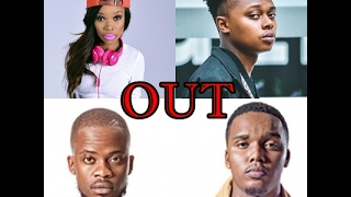 Areece, b3nchmarq, fifi cooperson, laflame, mashbeats leave ambitiouz entertainment. their reasons are still unknown however areece repeated the aka line tha...