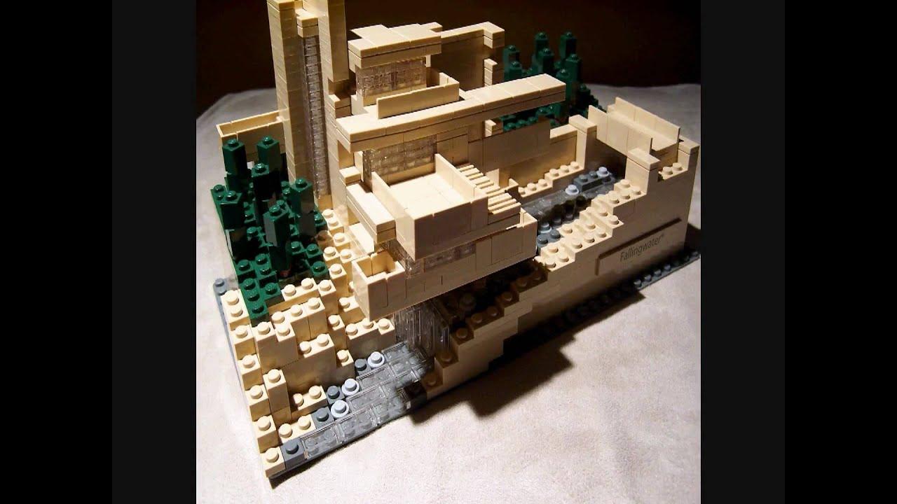 Lego fallingwater youtube - Falling waters lego ...
