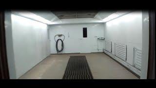 Покрасочная камера в гараже Часть 2(обзор из 3 частей)