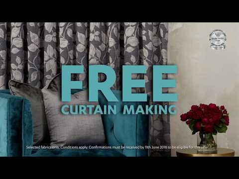 FREE Curtain Making on Thousands of Quality Fabrics* at Guthrie Bowron!