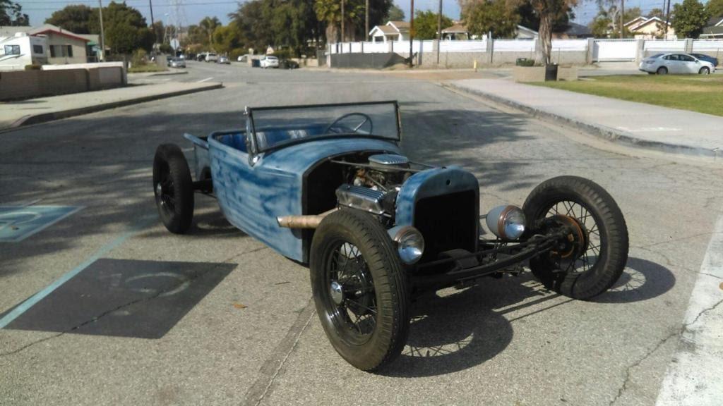 1929 Ford Model T Old School T Bucket Roadster Rat Rod