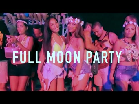 FULL MOON PARTY - THAILAND - KOH PHANGAN - 2016 [HD]