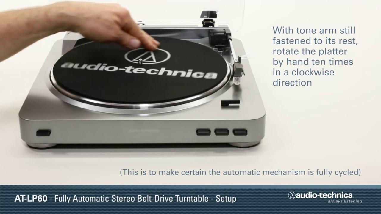 installation de la platine vinyle audio techina at lp60usb youtube. Black Bedroom Furniture Sets. Home Design Ideas