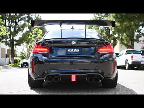 2020 BMW M2 Competition - Remus Exhaust, Active Autowerke Midpipe, VRSF Downpipe - Exhaust Clip