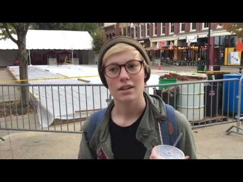 Reactions to Donald Trump's victory in downtown Knoxville