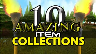 Runescape - 10 Amazing Item Collections