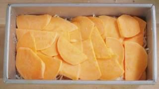 vegged episode 2   meghann ward s sweet potato gratin with veggie bullet