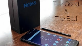 Samsung Galaxy Note 8 Review - The Good and Bad