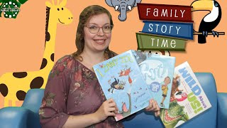 video thumbnail: Family Story Time - At the Zoo!