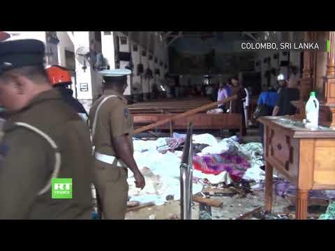 Sri Lanka : des taches de sang à l'église de Colombo