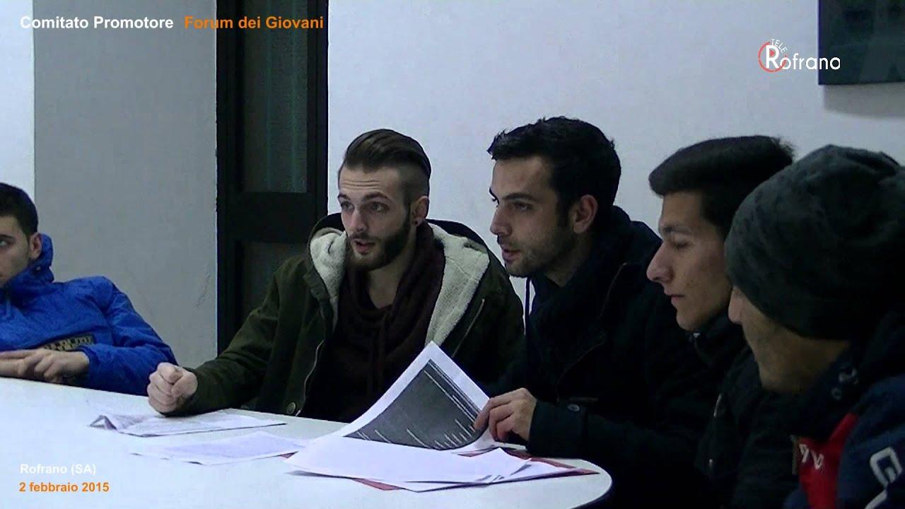 comitato promotore forum dei giovani