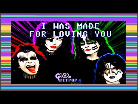 I Was Made For Loving You [8bit bitpop chiptune cover]