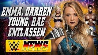 Emma, Darren Young & Summer Rae entlassen! | WWE NEWS 77/2017