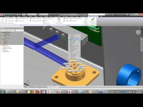 LiveLab Learning: AutoCAD Electrical Integration with Autodesk Inventor