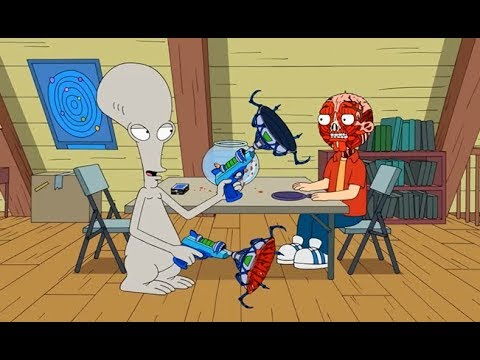 American Dad Roger Changes Steve S Face Youtube