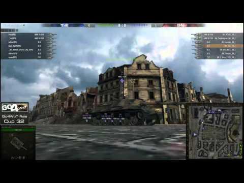WoT - SuperNoobs vs Team Efficiency - Go4WoT Asia - Cup 32 - Finals