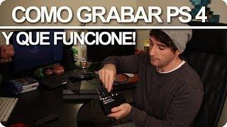COMO GRABAR PS4 Y EN HD 1080!!! - [LuzuGames]