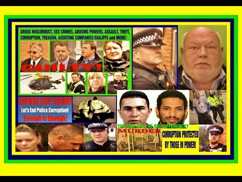 Most Corrupt Cops Police Corruption UK 🚔 🚨