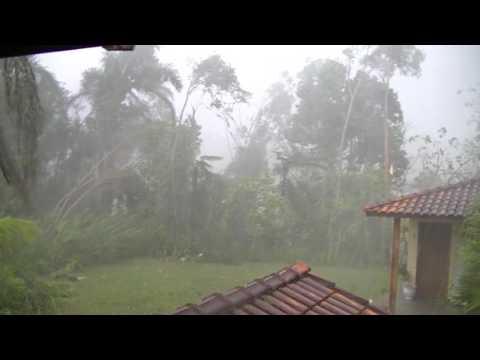 Tornado no Quintal de casa