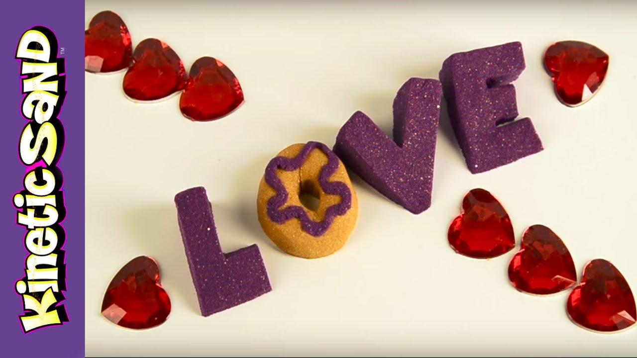 Kinetic Sand Jokes Squishing Valentine S Day Jokes Youtube