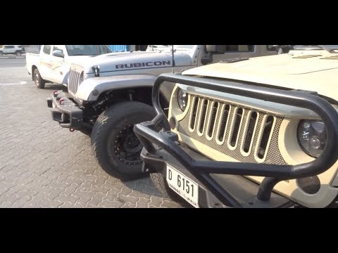 SUPER CHARGED & TURBO CHARGED Jeep Wranglers of DUBAI!!!