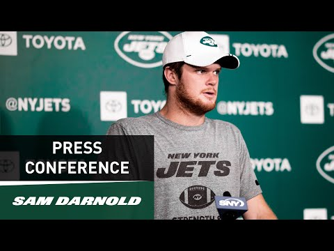 Sam Darnold Press Conference (10/3) | New York Jets | NFL