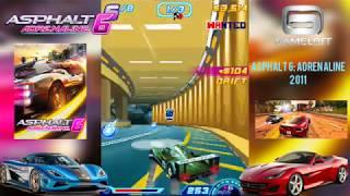 Asphalt 6: Adrenaline (2011) Java Game Play on android