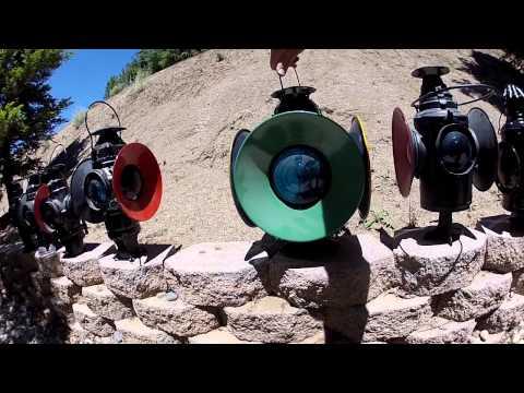 RAILROAD WIGWAGS KEROSENE MARKER AND SWITCH LAMPS BLOCK INDICATORS