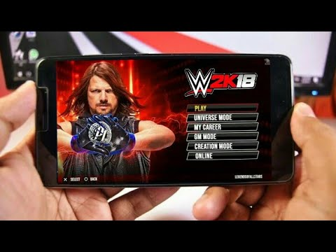 WWE 2K18 Android [DOWNLOAD NOW] #SUPRISE by LEVITATION_4D
