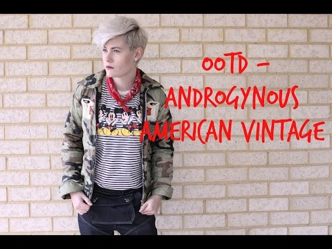 #OOTD - Androgynous American Retro