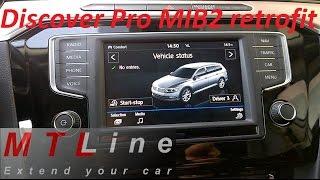 PQ MIB STD2 Carplay Android Auto Bluetooth Radio
