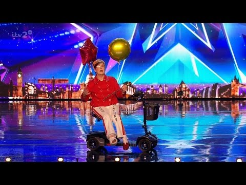 Britain's Got More Talent 2017 It's Mary Let the Hilarity Ensue Full Clip