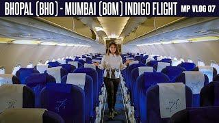 Flight To Mumbai | Bhopal Mumbai Indigo Flight | How Mumbai International Airport Looks? MP Vlog 7