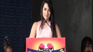 "Trisha - ""I had lots of fun with Anjali on set"" - Sakalakalavallavan Press Meet - BW"
