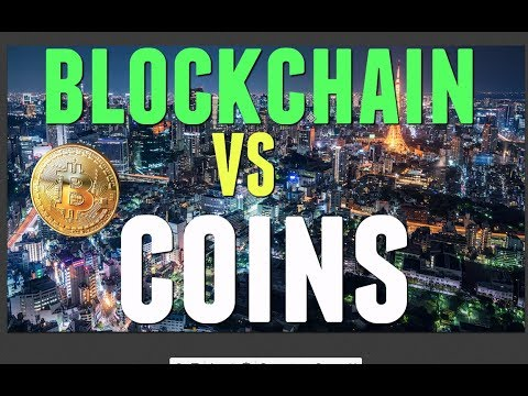 Investing in Blockchain VS  COINS