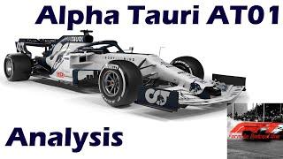 F1 2020 Alpha Tauri At01 Analysis
